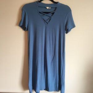 NWOT Blue Dress